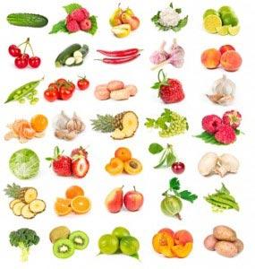 Einteilung der Lebensmittel