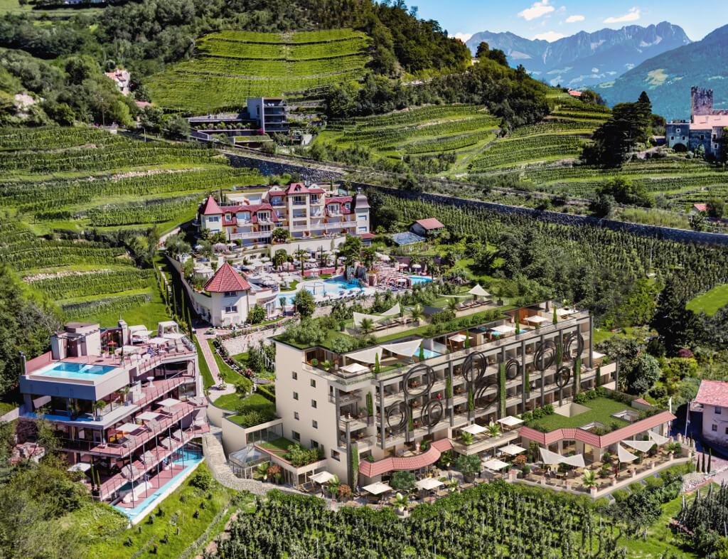 Preidlhof Hotel Naturns Meran - Aussenansicht