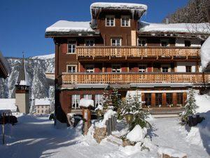 Ducan Hotel Davos - Aussenansicht