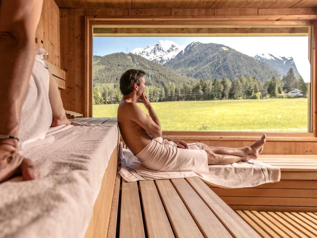 Bio Hotel Holzleiten Obsteig - Sauna