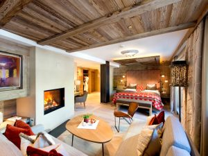 Tuxerhof Alpin SPA Hotel Tux im Zillertal - Relaxsuite Bergfeuer
