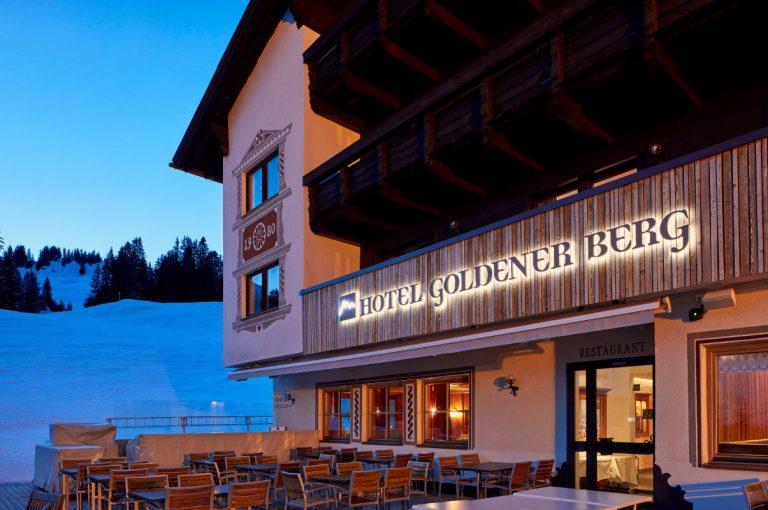 Hotel Goldener Berg Oberlech - Aussenansicht