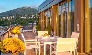 Dorint Maison Messmer Hotel Baden Baden - Penthouse bei Tag
