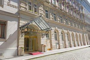 Hotel Kaiserhof Wien - Aussenansicht